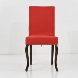 HİRA SANDALYE - Kırmızı Lükens Sandalye