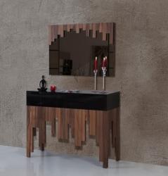 ONESTO CONCEPT - Model 201 Ahşap Dresuar ve Ayna