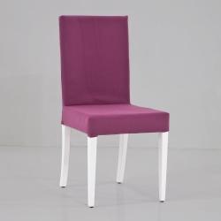 HİRA SANDALYE - Mor Düz Sandalye